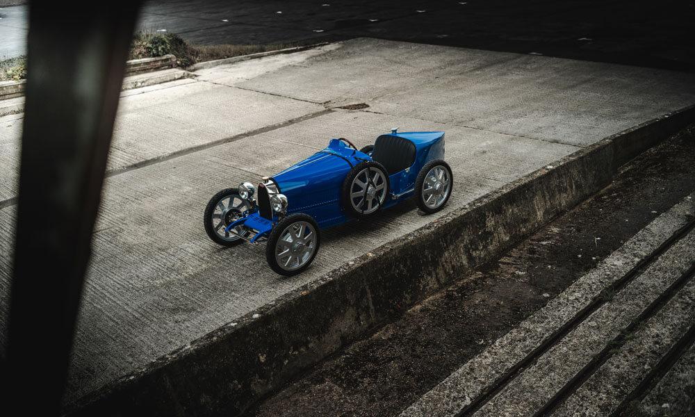 Bugatti Baby II Aerial View