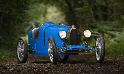 Bugatti Baby II Details Front View