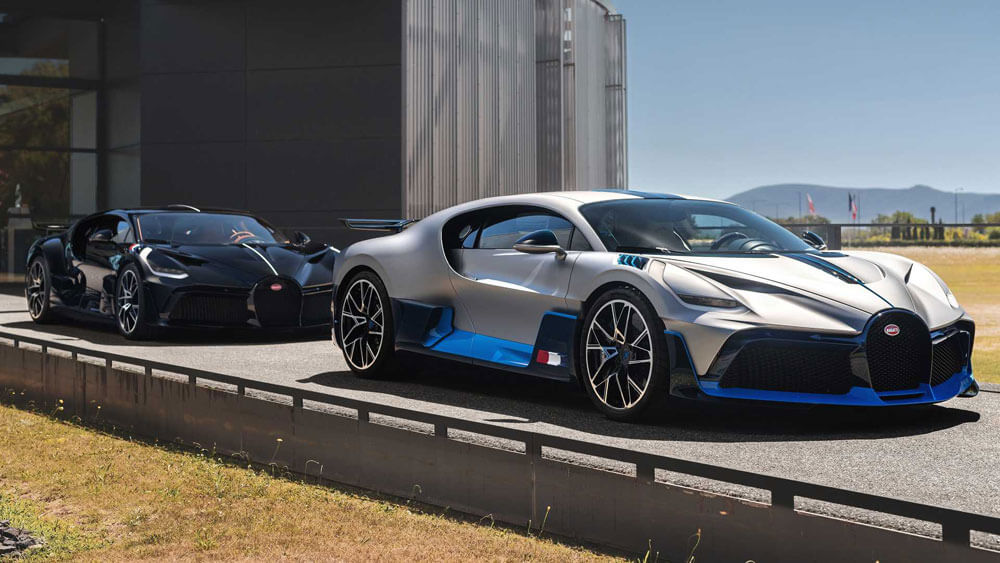 Bugatti Divo Revealed Molsheim 2020