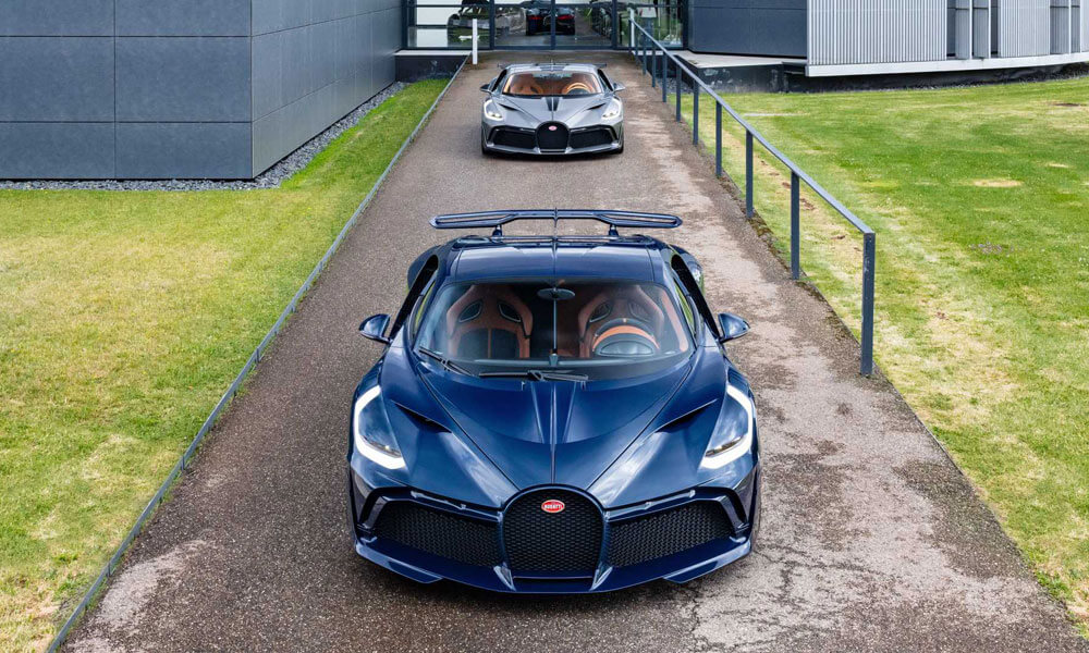 Bugatti Divo Revealed Molsheim Front View