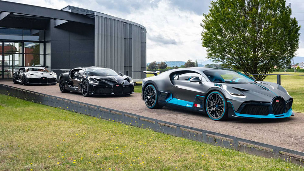 Bugatti Divo Revealed Molsheim Factory