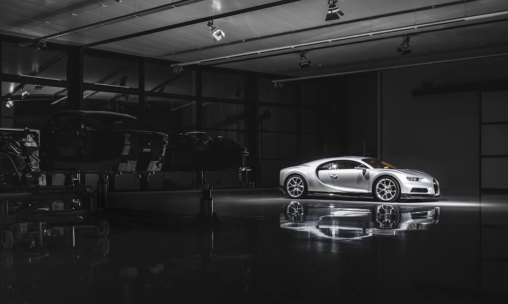 Bugatti suspends production 20th March 2020