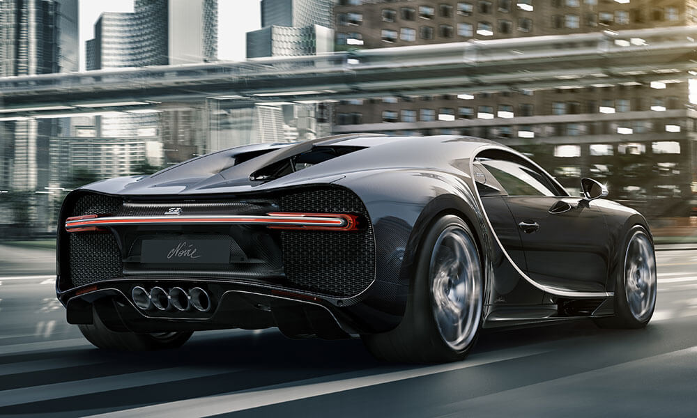 Bugatti Chiron Noir Elegance