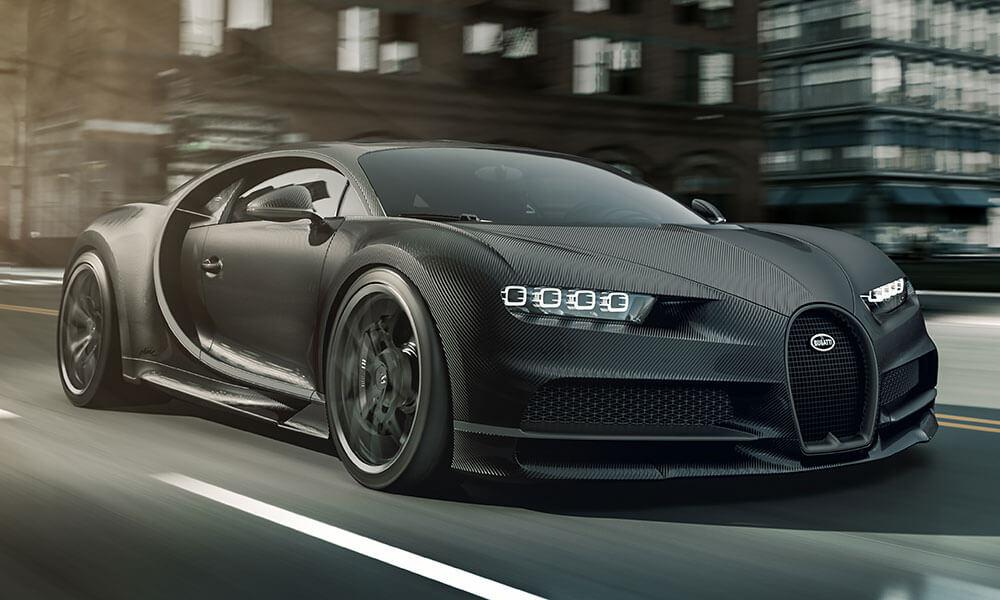 Bugatti Chiron Noir Sportive
