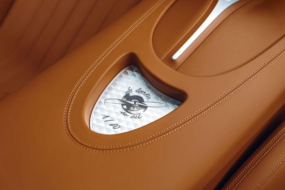 Bugatti Chiron Sport Legendes Du Ciel Console Insert