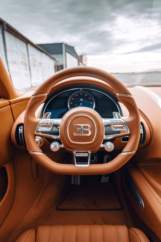 Bugatti Chiron Sport Legendes Du Ciel Steering Wheel