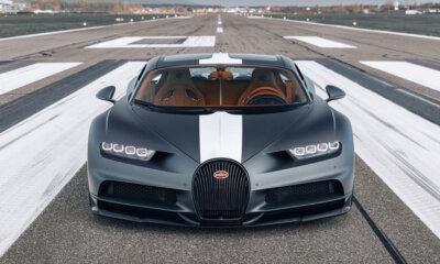 Bugatti Chiron Sport Legendes Du Ciel Front View