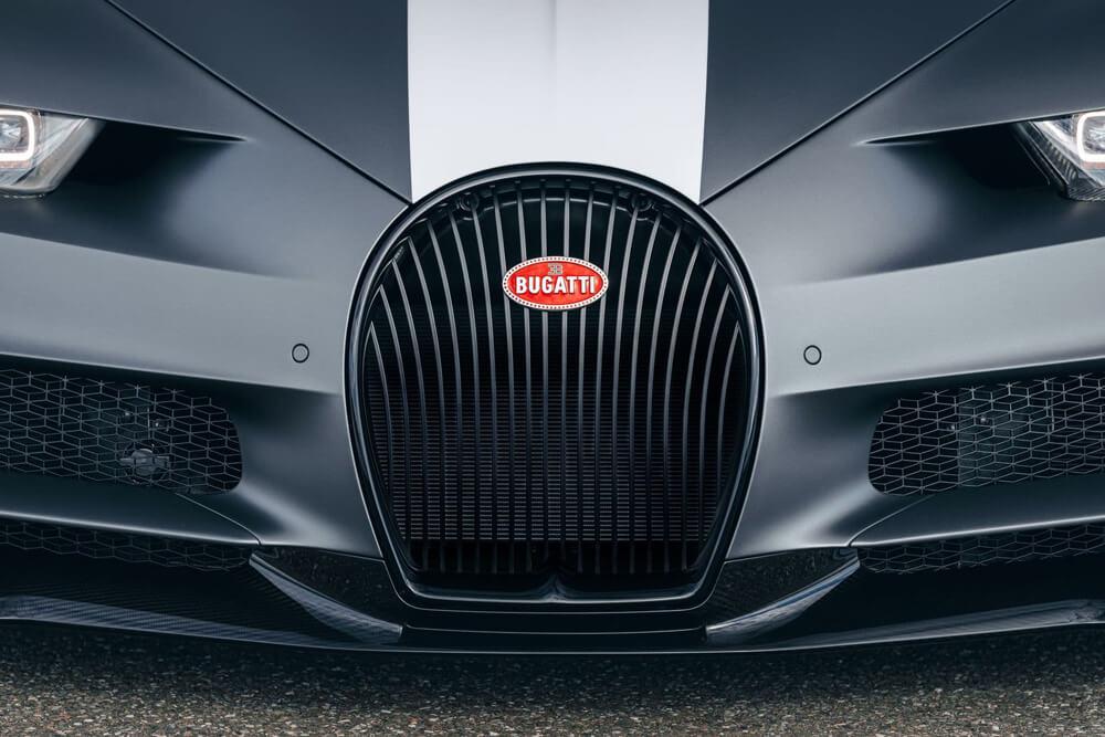 Bugatti Chiron Sport Legendes Du Ciel Grille View