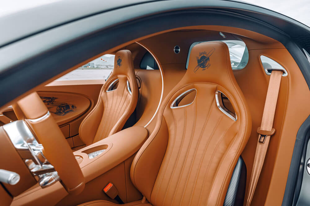 Bugatti Chiron Sport Legendes Du Ciel Leather Seats