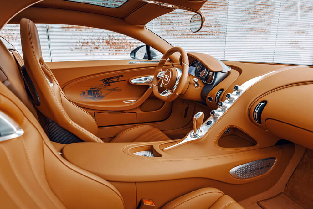 Gaucho Leather interior