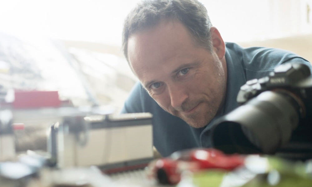 Automotive Photographer Domic Fraser At Work
