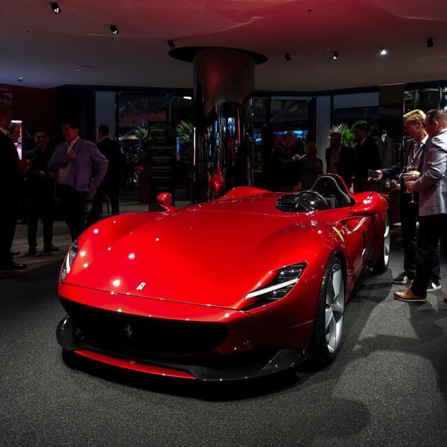 The New Ferrari Monza SP1 & SP2 Revealed In Maranello