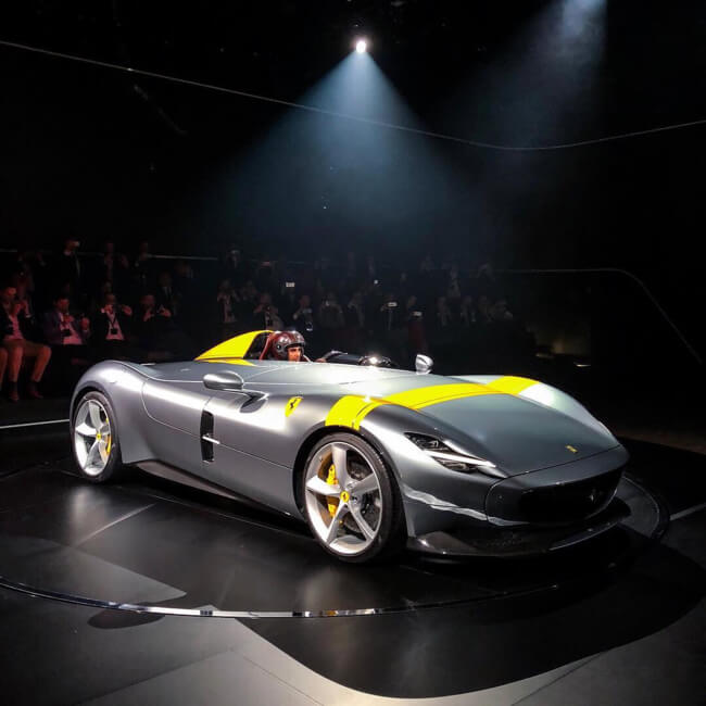 Ferrari Monza: The New Ferrari Monza SP1 & SP2 Revealed In Maranello