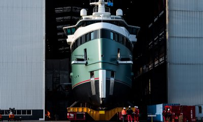 first DAMEN 62m SeaXplorer expedition yacht launched