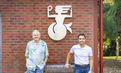 Gordon Murray and Dario Franchitti
