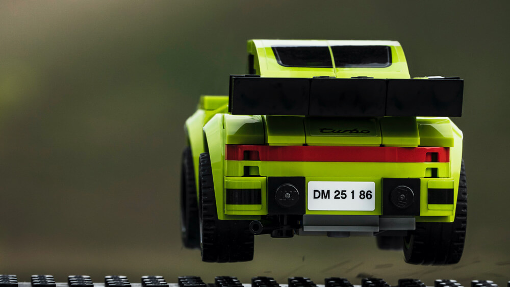 Recreating the jumping Porsche shot by automotive photographer Jeff Zwart. Credit: Dominic Fraser