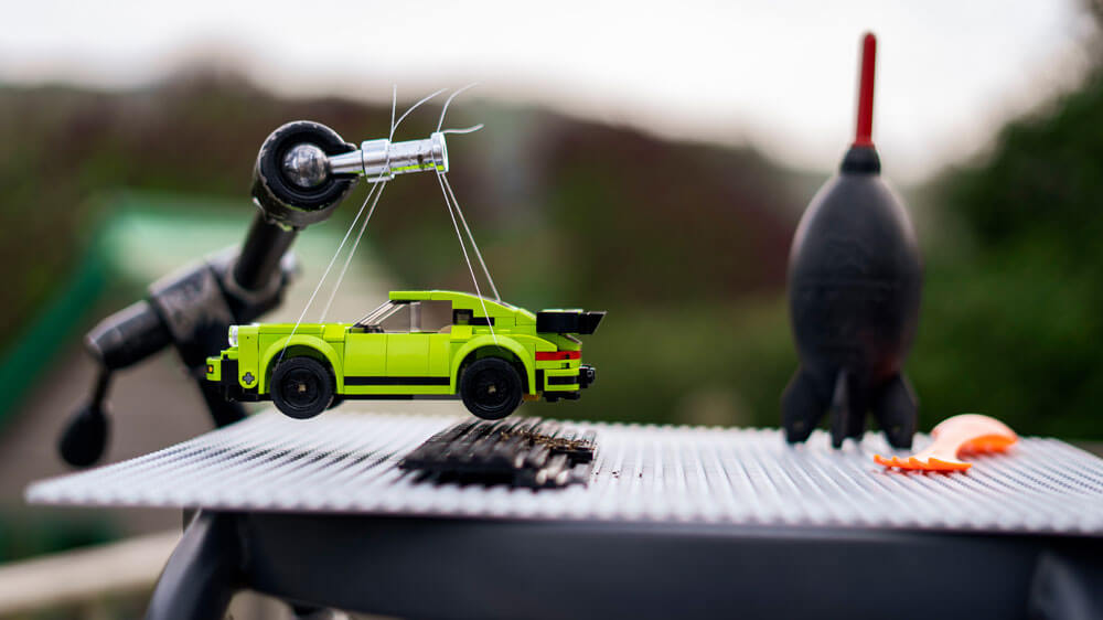 What it takes to get the shot. Credit: Dominic Fraser