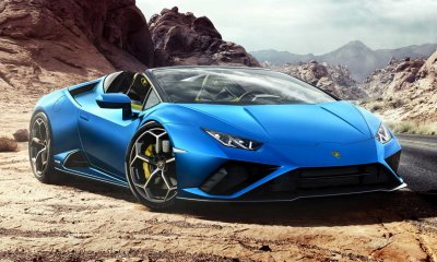 Lamborghini Huracan EVO RWD Spyder revealed