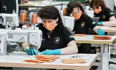 Lamborghini Factory Make Surgical Mask To Help Fight Against Coronavirus