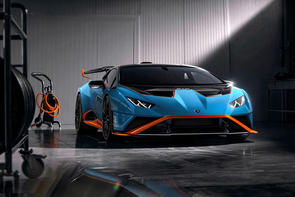 The new Lamborghini Huracán STO. Credit: Lamborghini