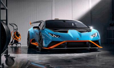 Lamborghini Huracan STO Front Side Garage