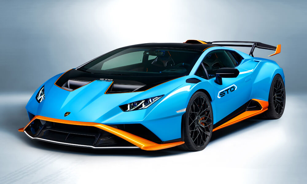Designed as a road-car with track performance. Credit: Lamborghini