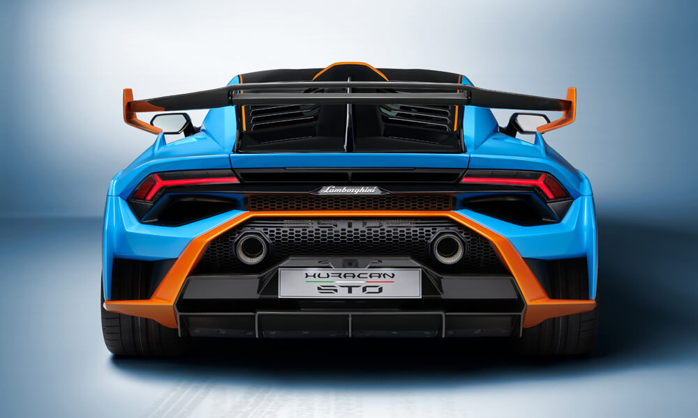 Lighter than the Performante with 53% more downforce. Credit: Lamborghini