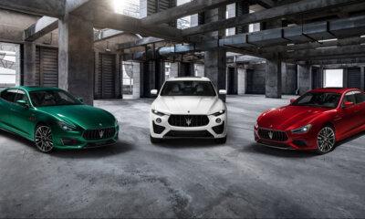 Maserati Trofeo Ghibli Levante & Quattroporte Trio