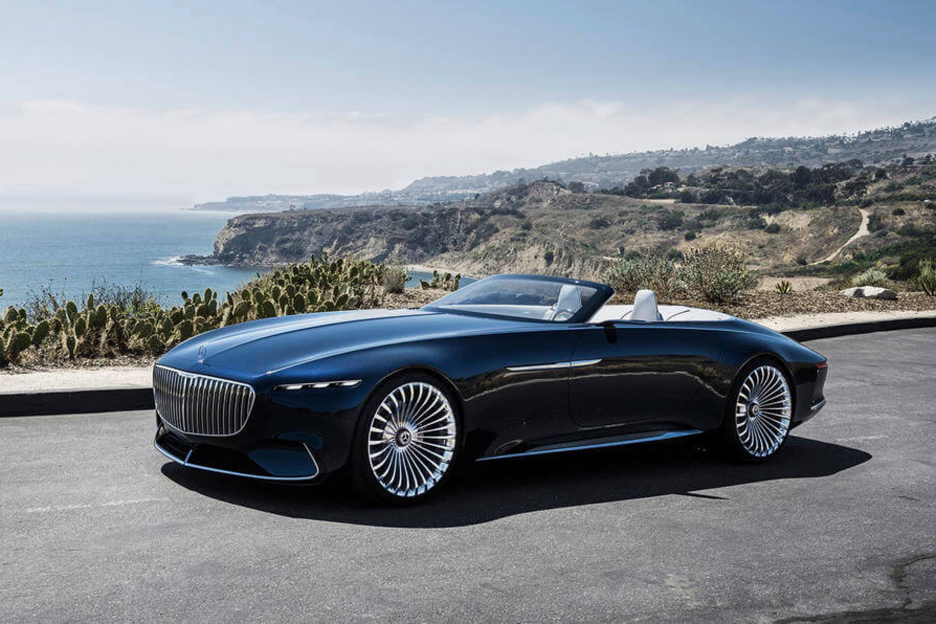 mercedes maybach 6 cabriolet unveiled at pebble beach billionaire toys. Black Bedroom Furniture Sets. Home Design Ideas