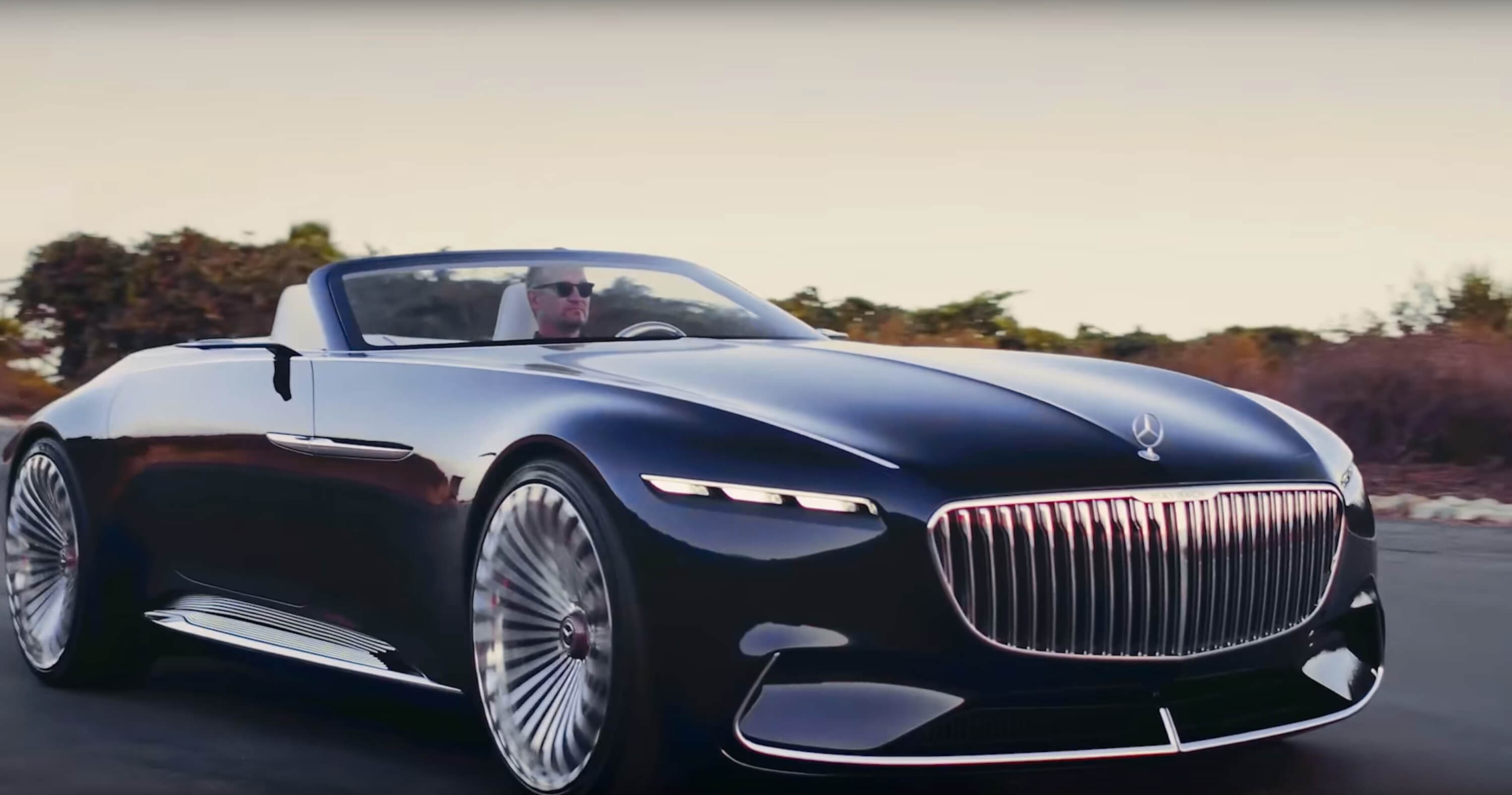 Mercedes Maybach 6 Cabriolet Unveiled At Pebble Beach