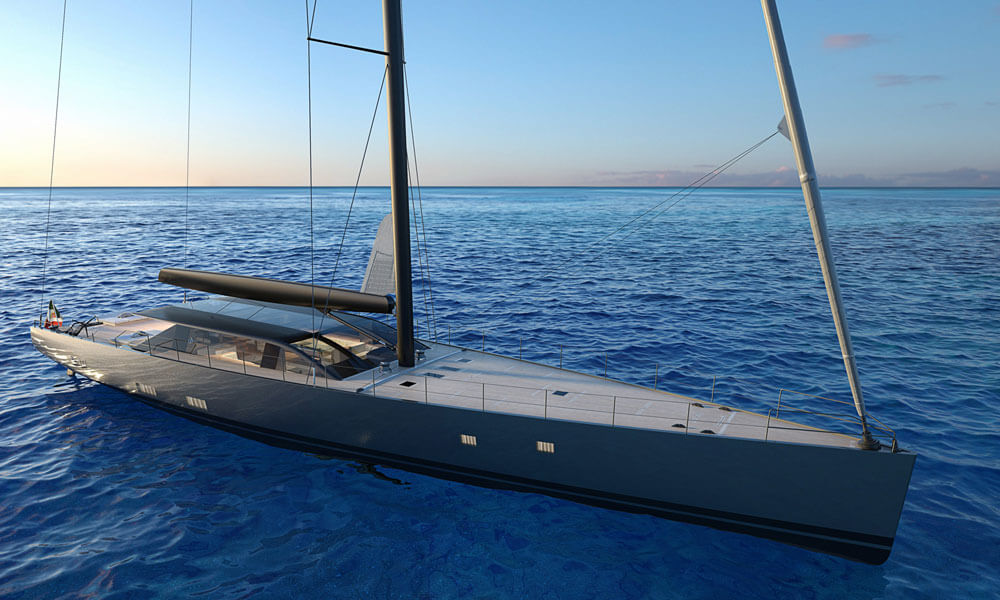 Perini Navi E-Volution sailing yacht design