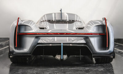 Porsche Unseen Rare Concept Cars 551 Street Vision Spyder Rear