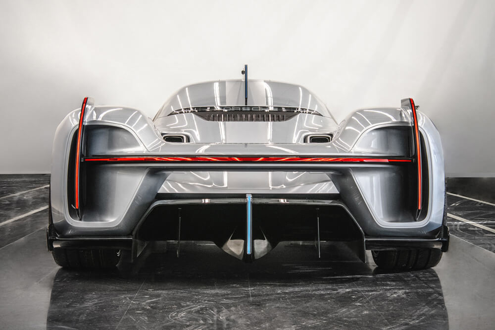 """Porsche 919 """"Street"""" concept car is based on a Le Man's winning design but for the road. Credit: Porsche"""