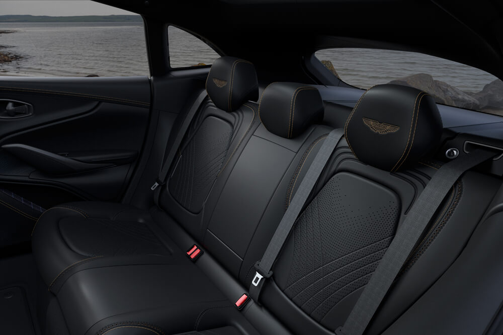 Q By Aston Martin Dbx Bowmore Edition Rear Seats Billionaire Toys