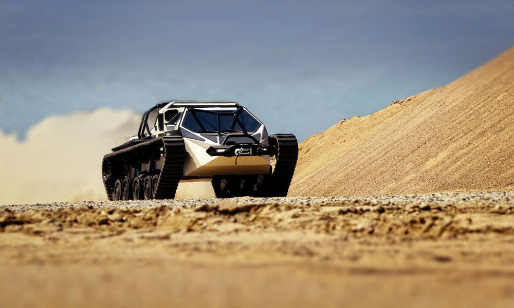 Ripsaw EV2 Luxury Tank will be onboard the Ragnar Explorer Yacht