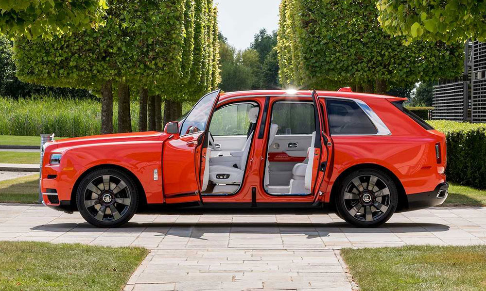 rolls royce fux orange cullinan