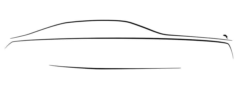 Rolls-Royce Ghost Silhoutte