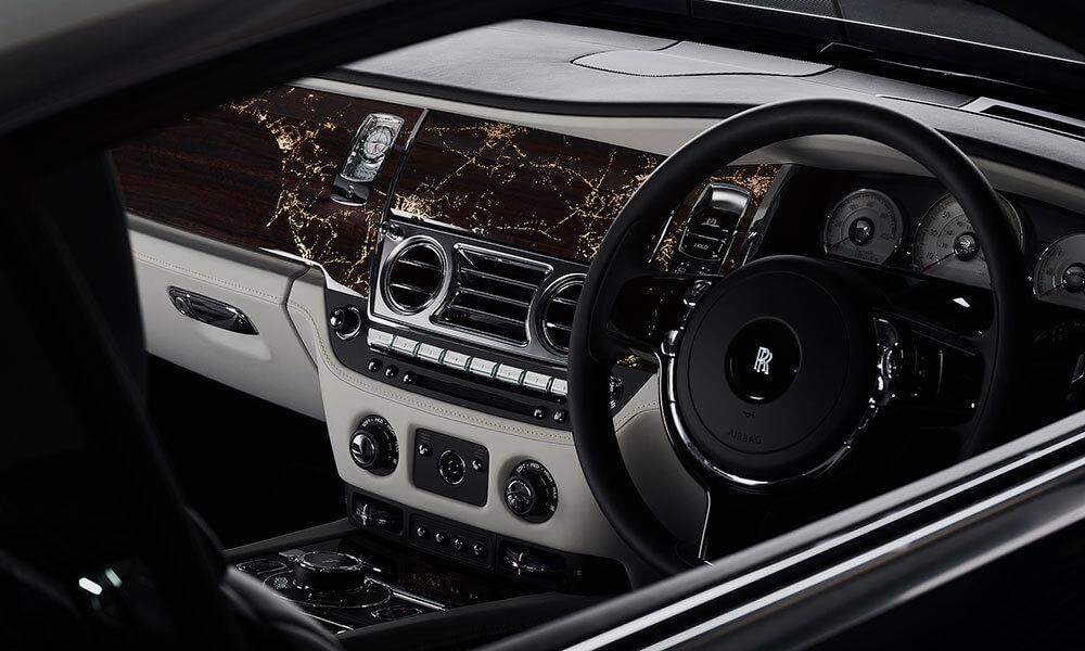 Rolls Royce Wraith Eagle VIII cabin interior