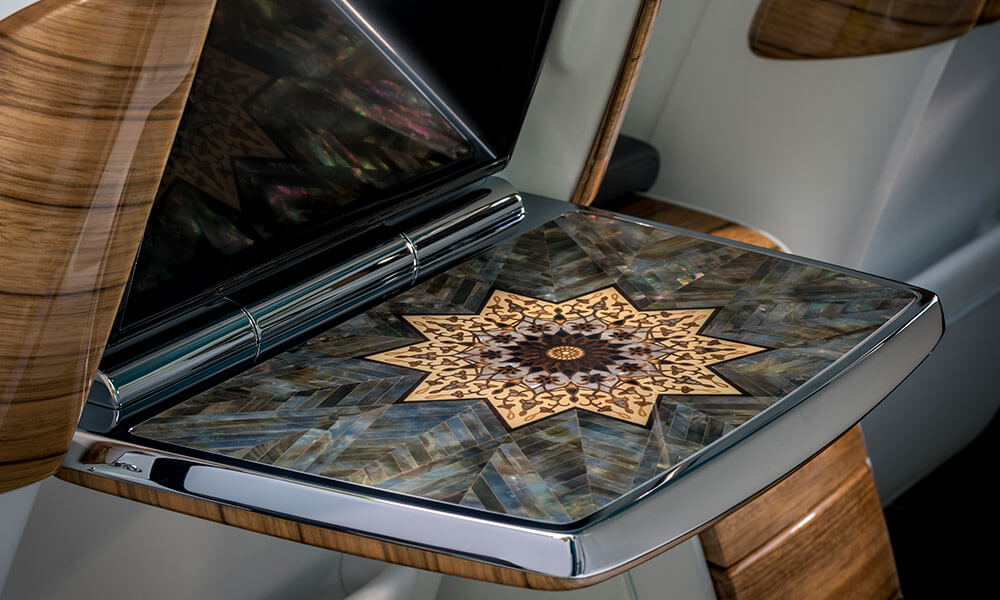 Rolls-Royce Arabian Gulf Phantom Picnic Table Inlay
