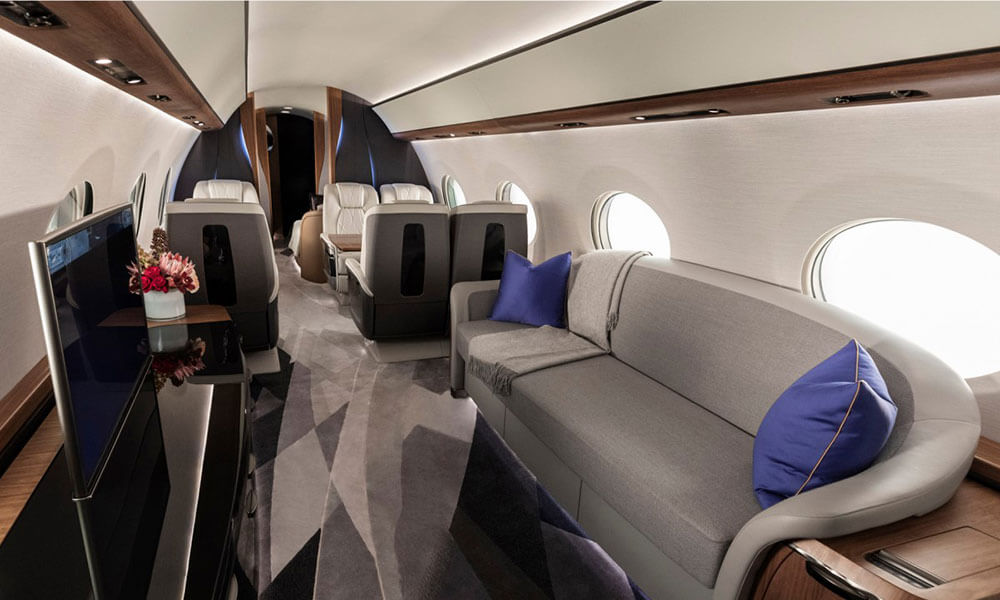 The Gulfstream G700 Cabin